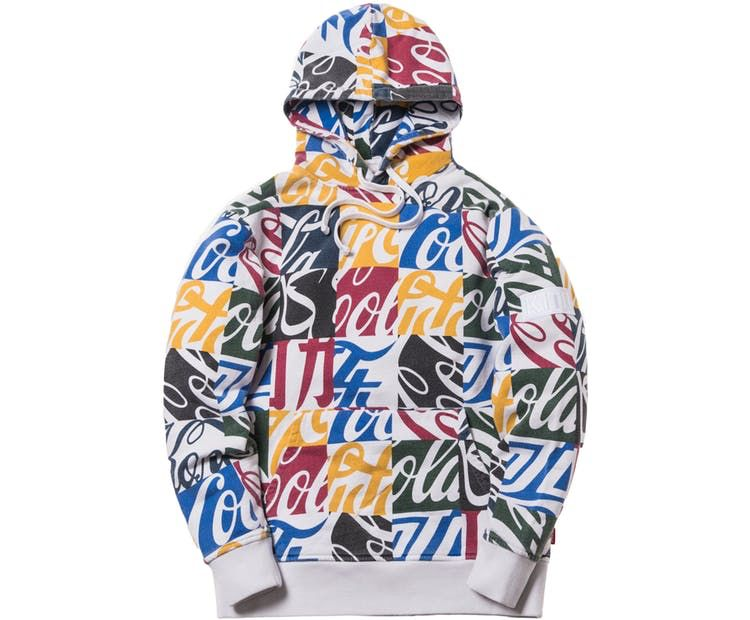 478135b0 Check out the Kith x Coca-Cola Cubed Global Hoodie Multi available on StockX
