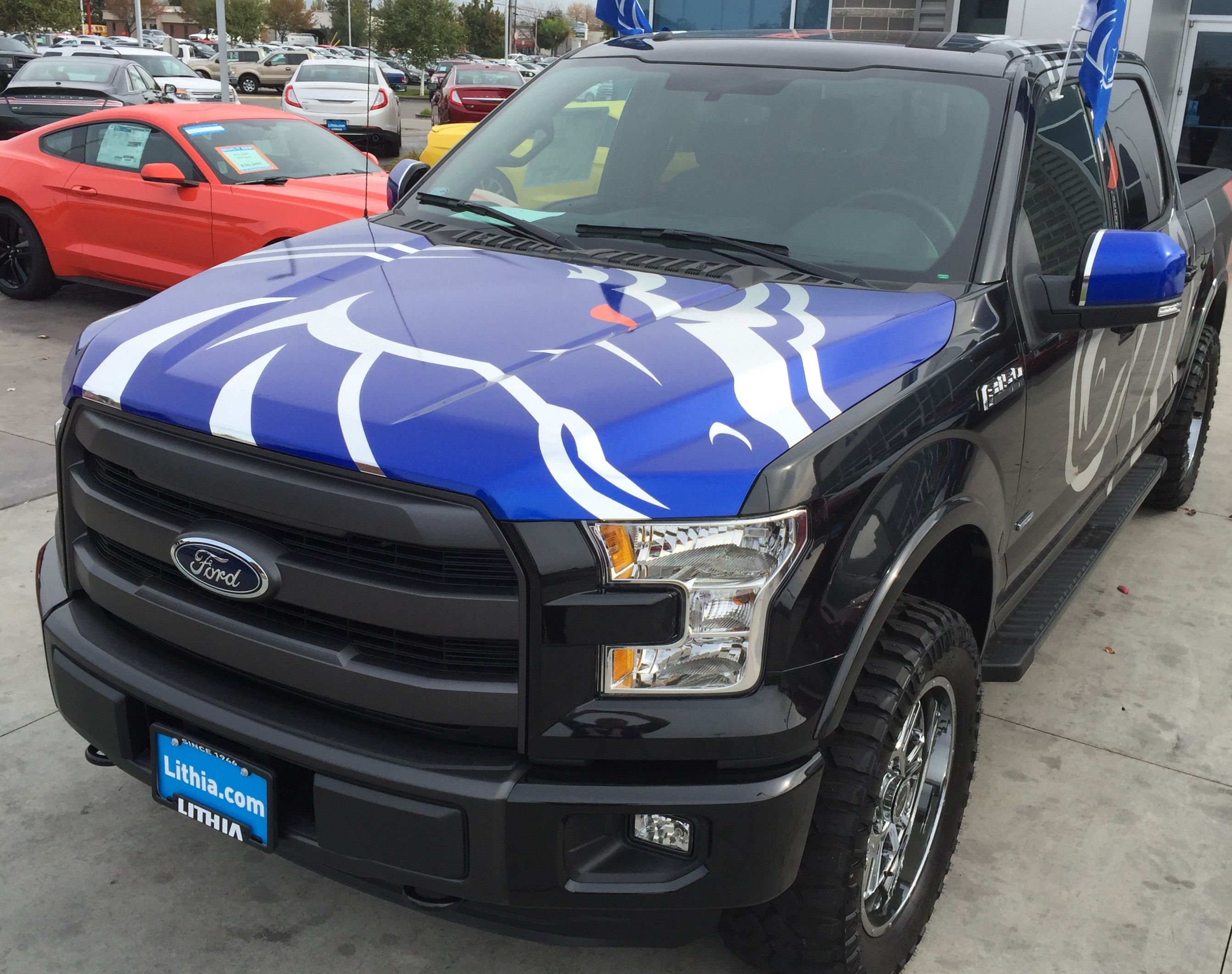 Boise State Broncos F 150 By Lithia Ford Ford Trucks Ford