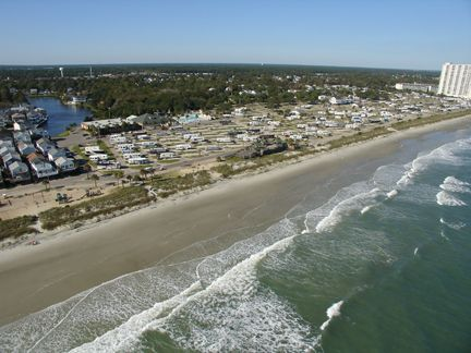 Ocean Lakes Features Nearly One Mile Of Oceanfront Camping