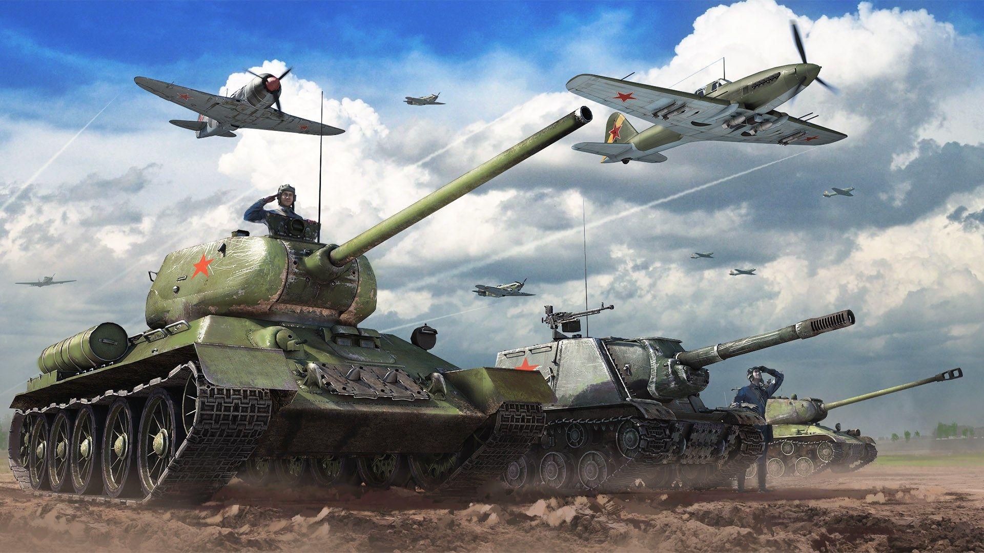 видео про игру war thunder танки