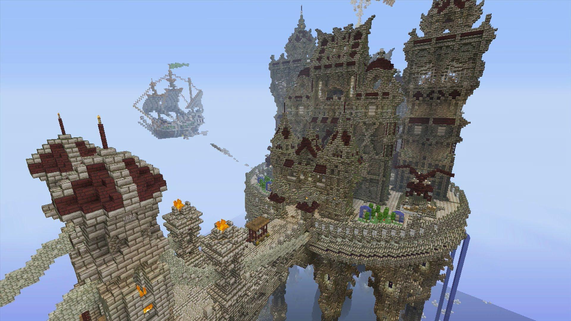 Minecraft Xbox Crypta Deamoniorum Epic Build Mini Game Video