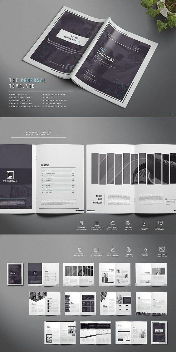 brochure templates psd free download | Business brochure ...