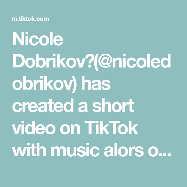 Nicole Dobrikov Nicoledobrikov Has Created A Short Video On Tiktok With Music Alors On Danse Remix Home Workout Zum Auf Fitness Unterhalt Fernbeziehung
