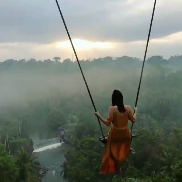 Crazy swings at Bali Indonesia ,  #Bali #crazy #indonesia #swings