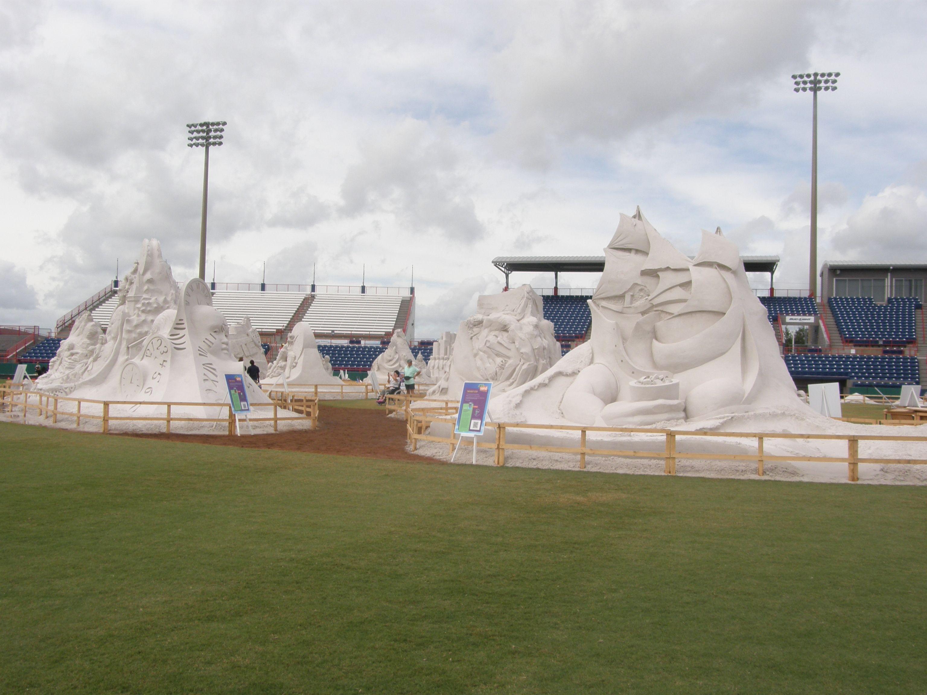 Amazing sand art, Brevard County , Florida, 2012