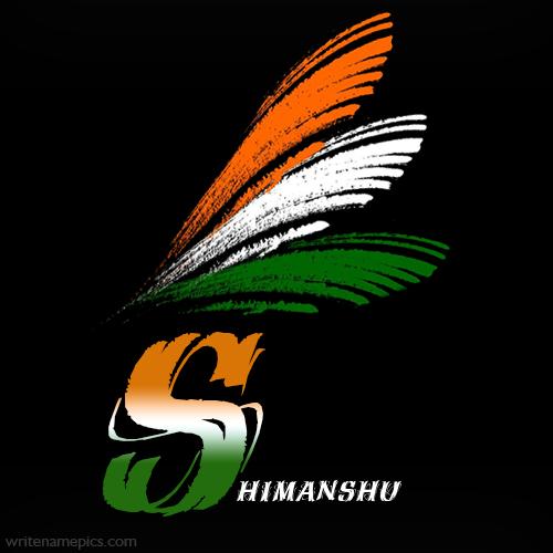 Himanshu Name 3d Wallpaper Download