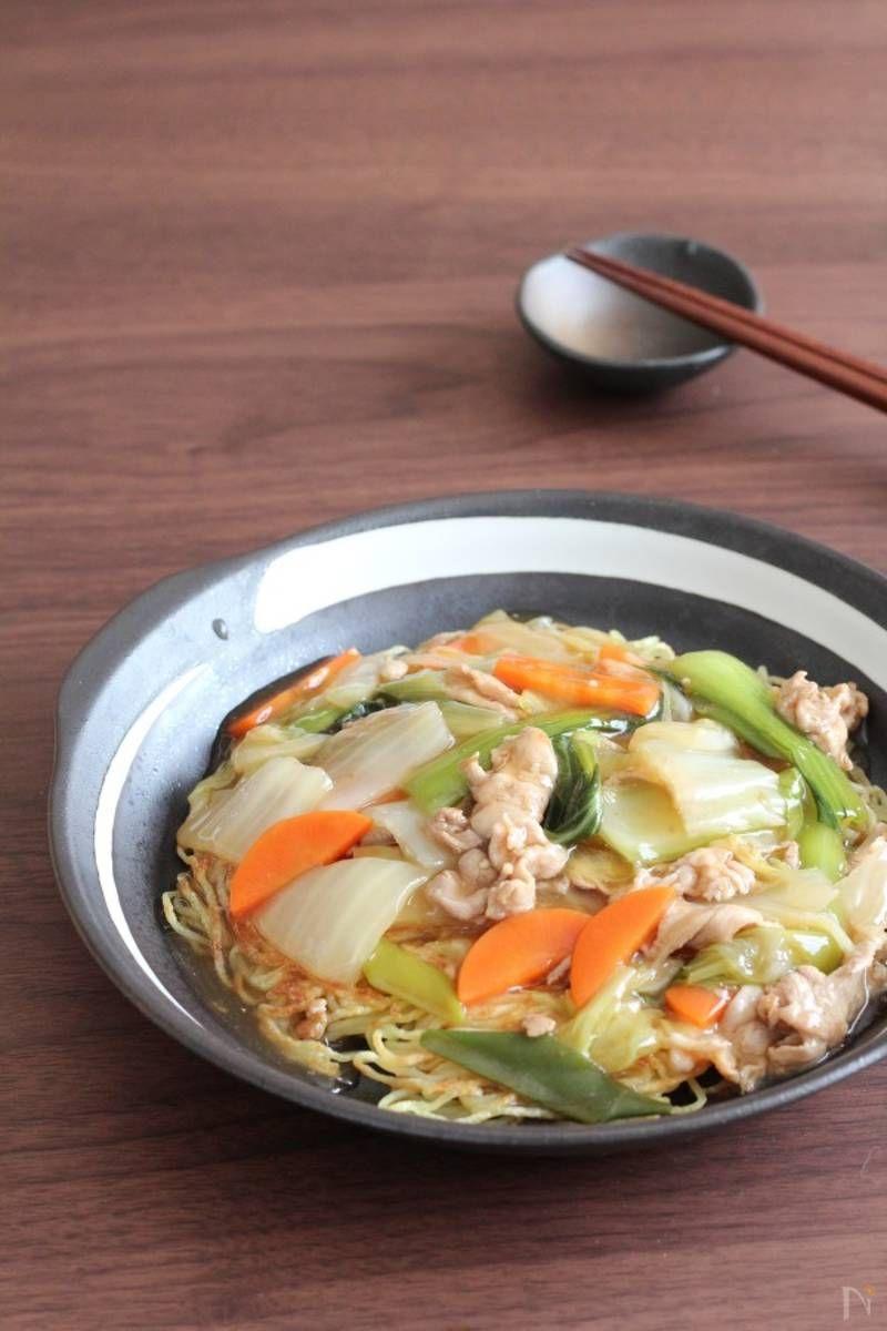 おうちでできる本格あんかけかた焼きそばの作り方 焼きそば 料理 料理 レシピ