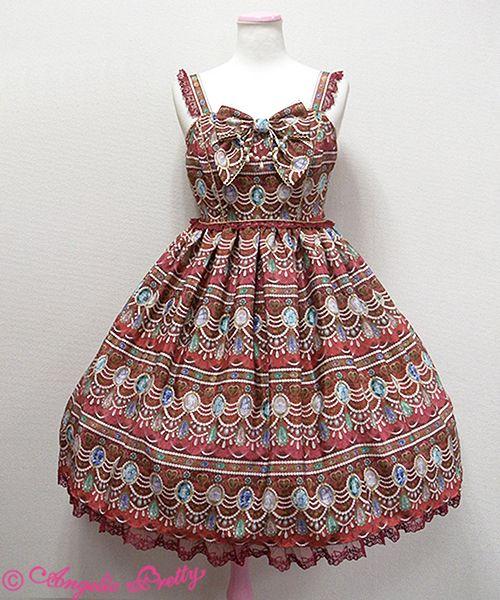 Angelic Pretty Dreamy Jewel胸リボンジャンパースカート