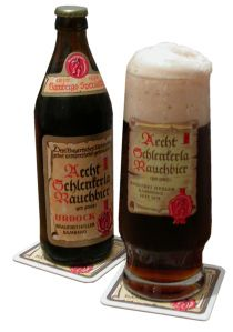 Bamberg smoked beer, one of Dominique's favorites!!!