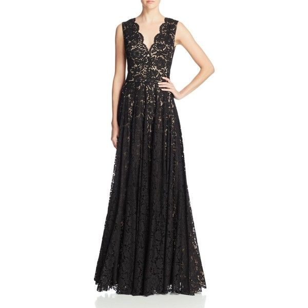 Black Vera Wang Evening Dresses
