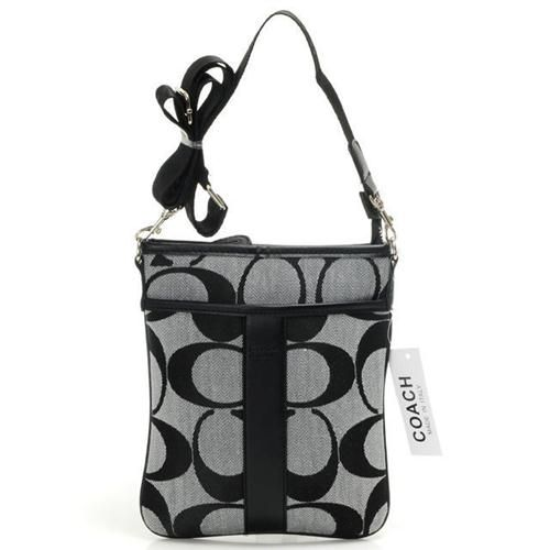 Coach Legacy Swingpack In Signature Small Grey Crossbody Bags Aih Give You The Best Feeling