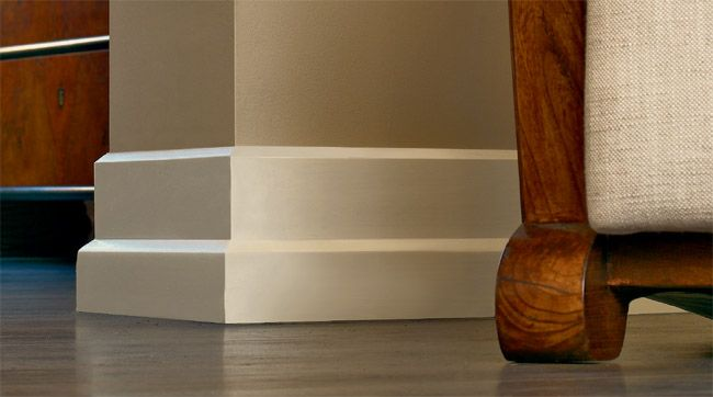 base molding (moulding -- like this style | Walls and Ceilings ...