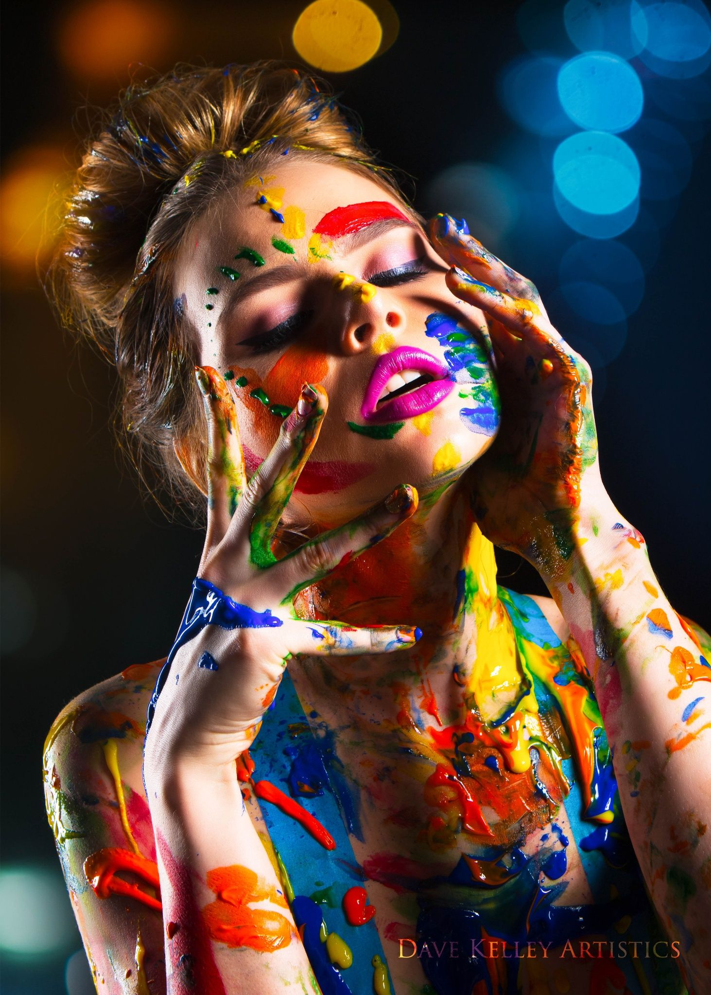 Color Bind Body Art Photography Art Photography Women Paint Photography