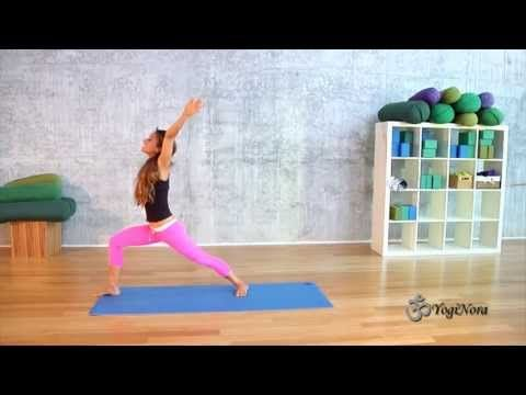 check out yogi nora's gentle yoga video sun salutes