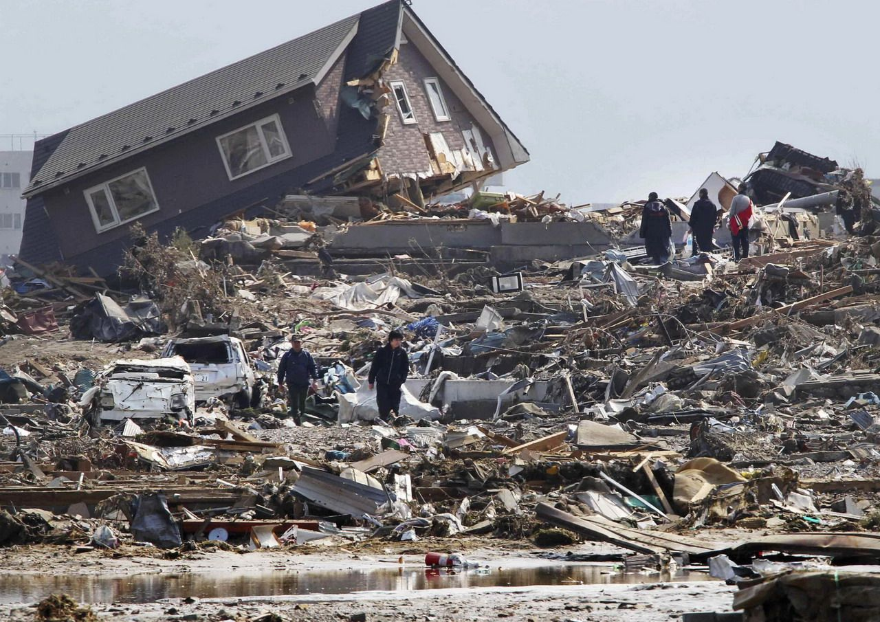 The dreadful effects of earthquakes