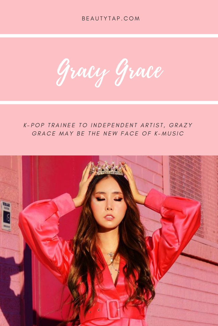 Former K Pop Trainee Grazy Grace May Be The New Face Music Music Practice Beauty Pop Korean American