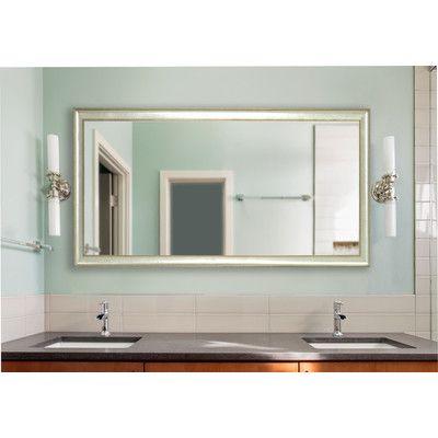 "House of Hampton Mirror Size: 68.5"" H x 33.5"" W"