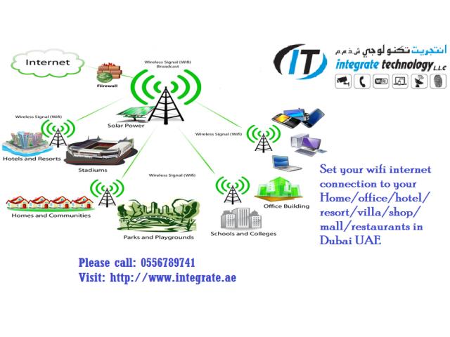 Villa wifi router Linksys range extender setup technician in