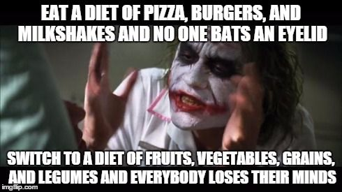 3 days into a 30 day Vegan challenge and this is what I've learned... #veganhumor