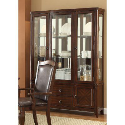 Coaster Furniture Louanna Dining China Cabinets  104844  China Classy Dining Room Buffet Hutch Decorating Inspiration