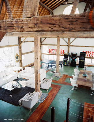 Is anything better than exposed wooden beams?