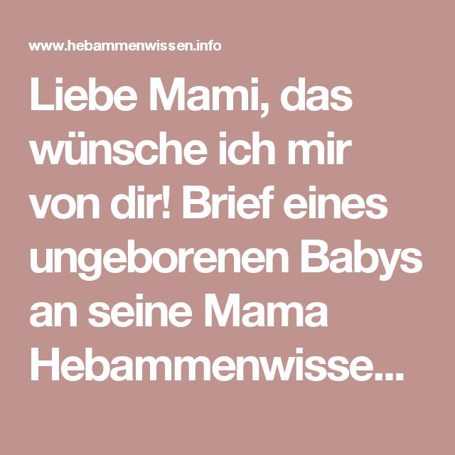 Wunsche zum ungeborenes baby