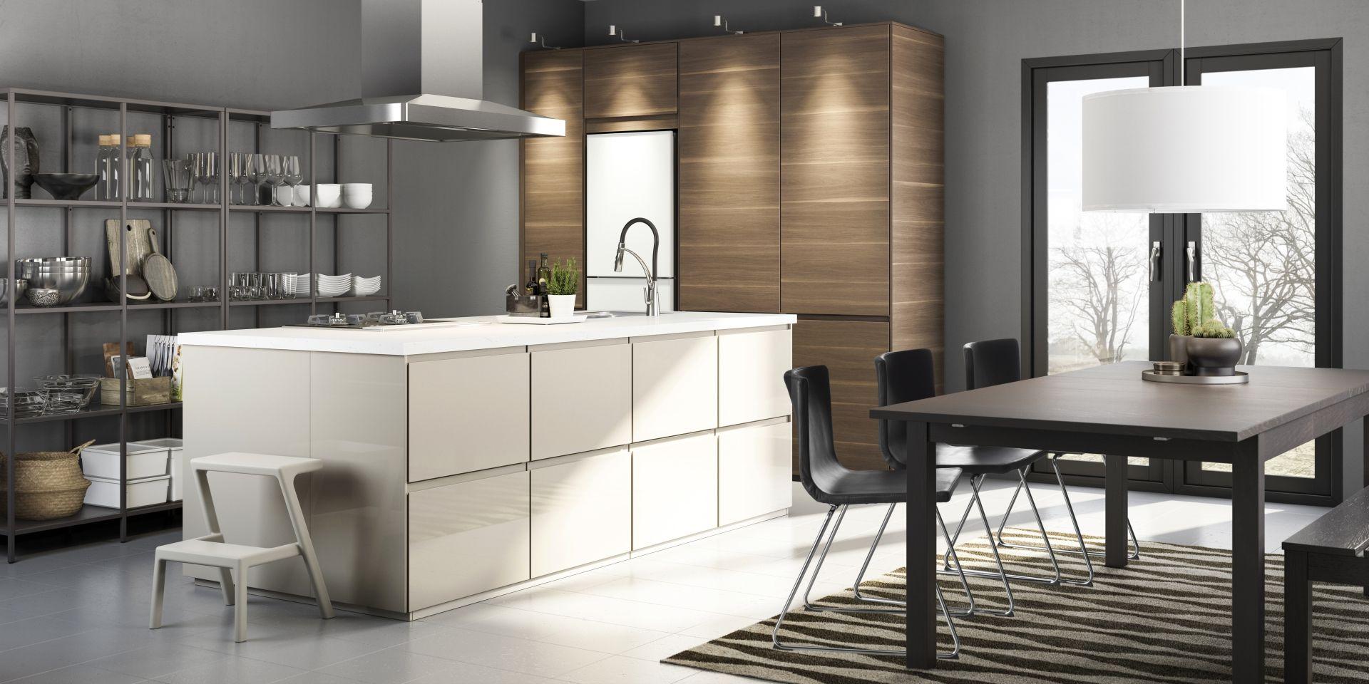 Voxtorp Deur Walnootpatroon Theresa S Dream Kitchen Ikea New