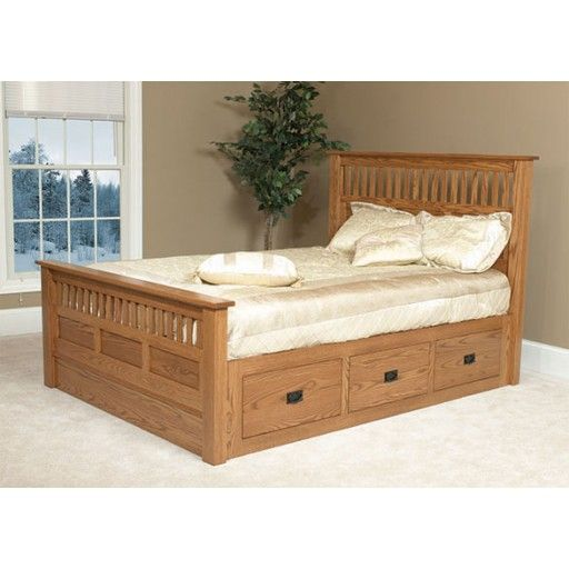 Amish Lynbrook Mission Bed Mission Style Bedroom Furniture