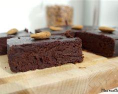 Brownie au chocolat et aux amandes