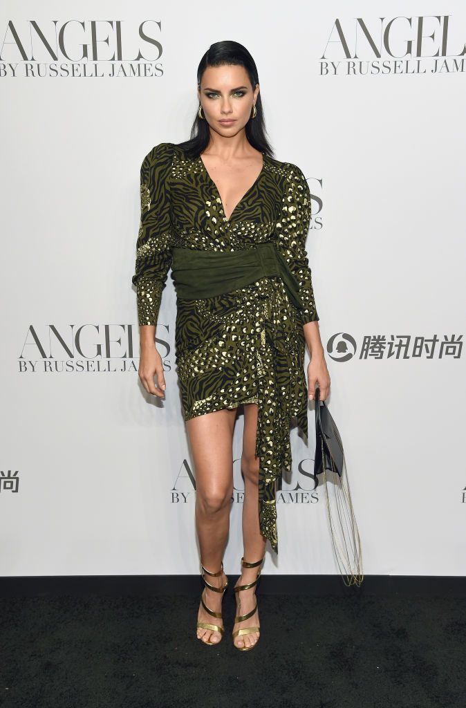 1f126aa5e28c3 Adriana Lima attends the  ANGELS  by Russell James book launch and ...