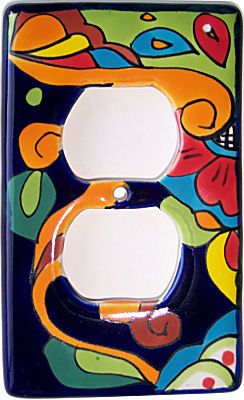 I Love These Talavera Outlet Covers