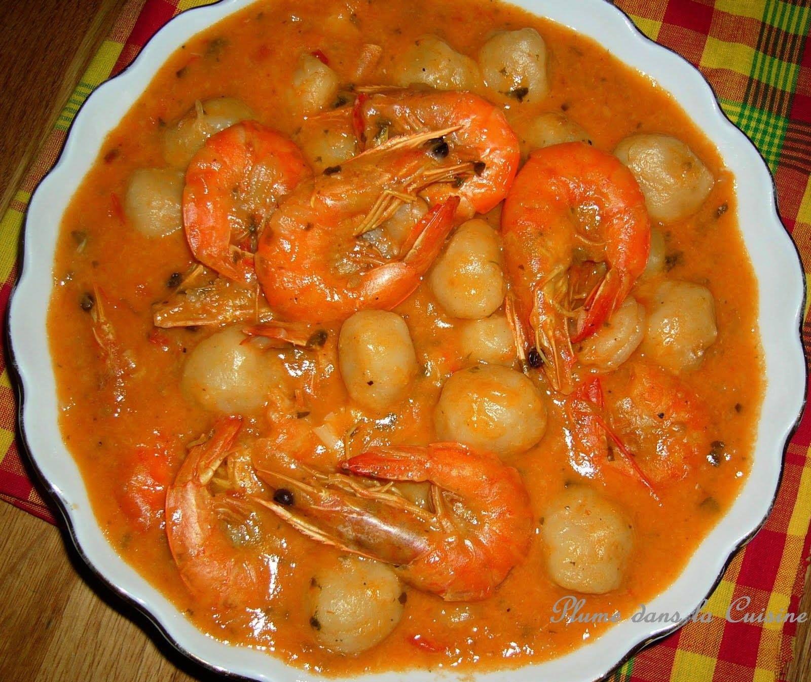 Gastronomie recette antillaise dombr de crevettes au - Cuisine creole antillaise ...
