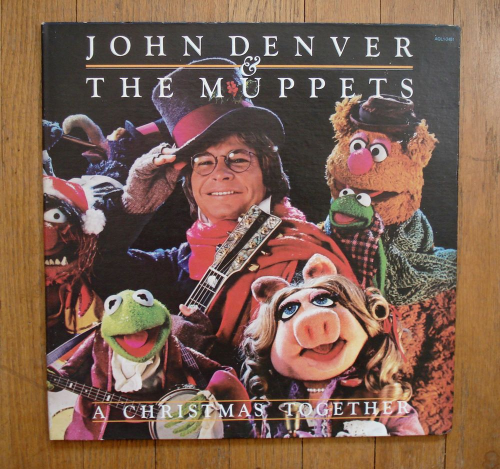 John Denver & The Muppets A Christmas Together LP & Poster AQL1-3451 ...