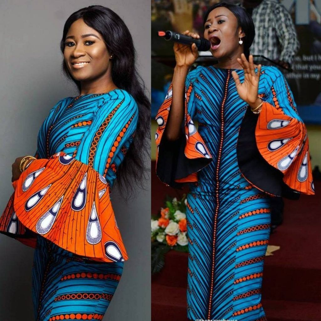 Ankara fabrics are the inthing and the first outfit idea that comes
