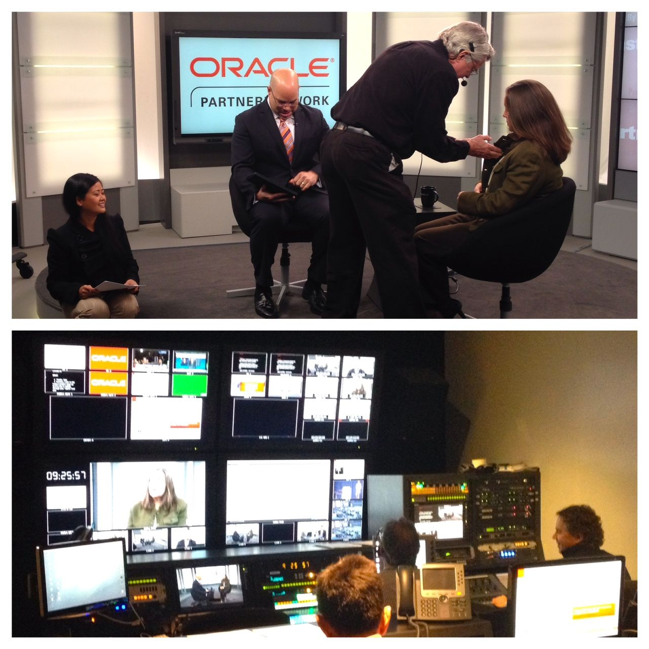 Check out #OPN in full PartnerCast prep mode for our February 12 installment. 30 min until we're #LIVE!