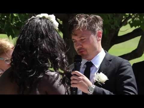 Wedding Videographer Perth - Yvonne & Israel's Wedding Ceremony - YouTube
