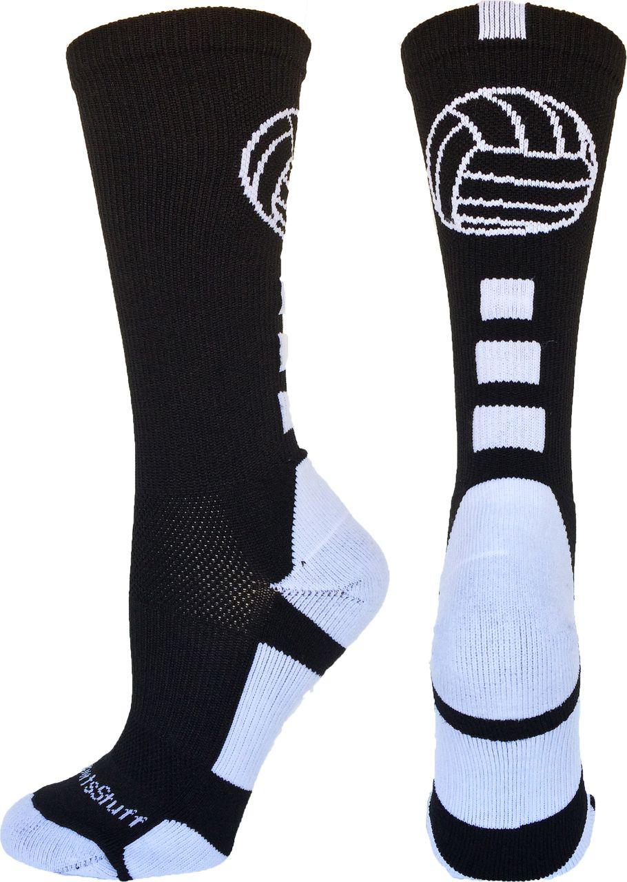 Crew Volleyball Socks With Logo Multiple Colors With Images Volleyball Socks Volleyball Outfits Sport Socks
