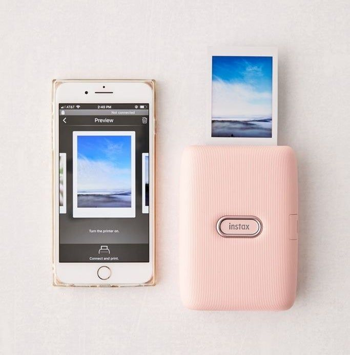 Photo of A smartphone printer for anyone who is constantly taking selfies but then doesn't know what to do with them after they've uploaded them to Insta.