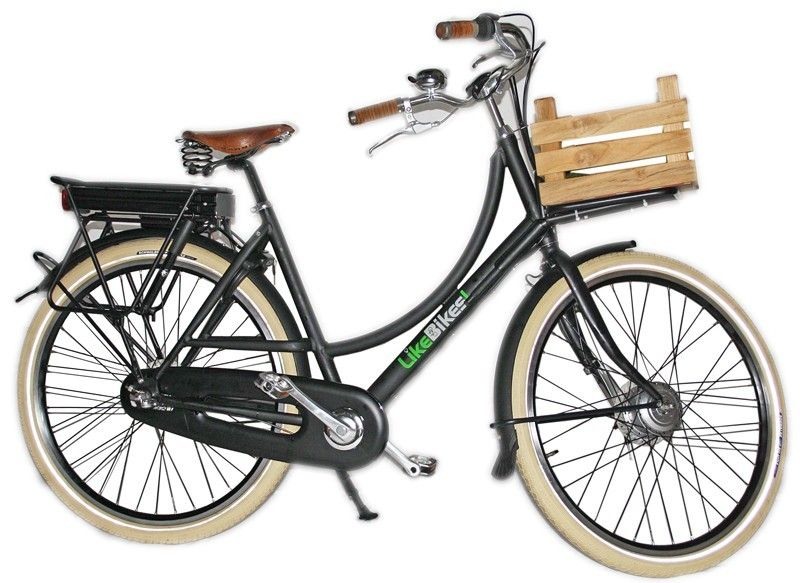 elektrische damesfiets in retro style van azor bike | my wishes ...