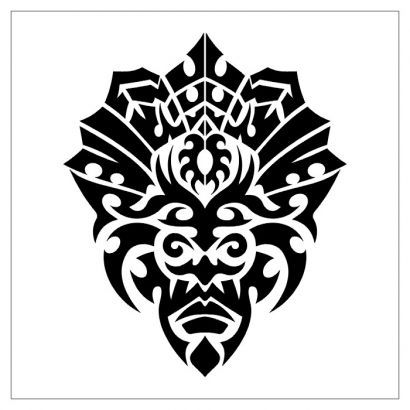 f4e06e65e1ea8 Tribal Mask Tattoos | Tattoo Of Tribal Mask || Tattoo from Itattooz ...