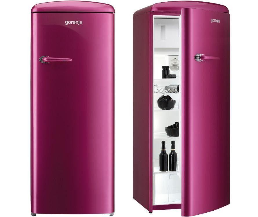 Gorenje Rb60299op Egyajtos Hutoszekreny Retro Fridge Pink Fridge Locker Storage