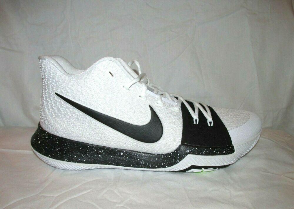 reputable site 0714d 361f3 Nike Kyrie 3 TB Mens Basketball Shoes 11.5 White Black #Nike ...
