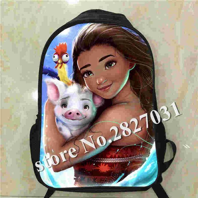 f999f6c2249 Custom Made Sea adventure Maui Backpack Shoulderbag Pencil Bag Games Train  UT FNAF TV Show Animal Boys Girls School Bags