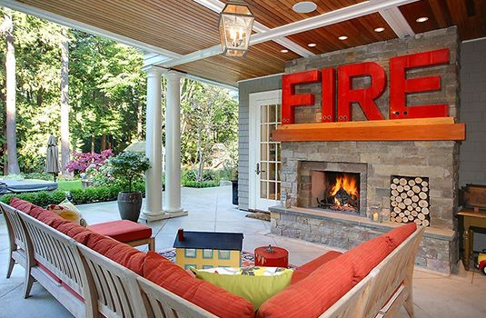 Cool back yard space idea