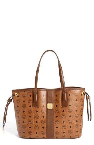 MCM 'Medium Liz' Reversible Shopper. #mcm #bags #clutch