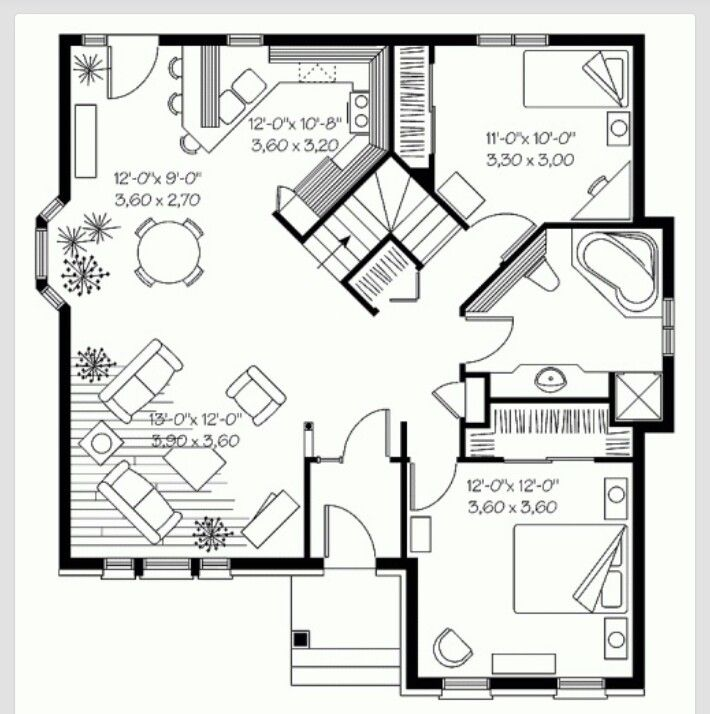 Wont Need The Stairs Put A Half Bath There Or Full If Room