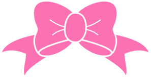 hot pink bow clip art vector clip art online royalty free rh pinterest com box vector bow victor