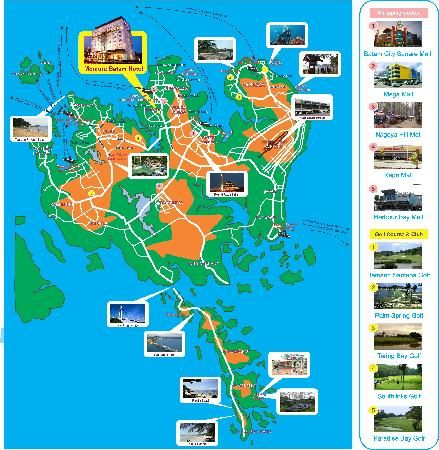 Batam Mercure Batam Photo Batam Island Tourism Map Bonfire N