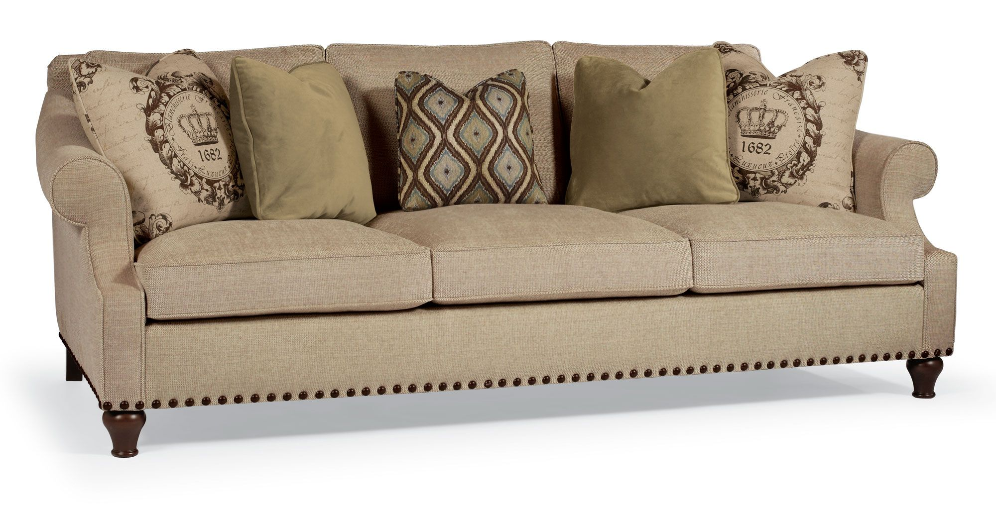 B3947 harrison sofa bernhardt w 95 d 44 h 35 sh 185 ah for Cheap sectional sofas pittsburgh