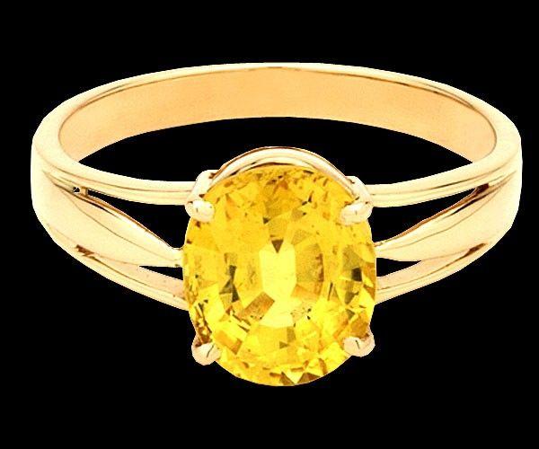 Yellow Sapphire Vedic Astrology